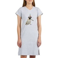 Pug Party Women's Nightshirt