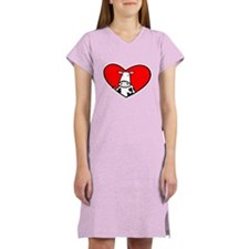 I Heart Cows Women's Nightshirt
