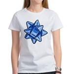 Dark Blue Bow Women's T-Shirt