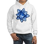 Dark Blue Bow Hooded Sweatshirt