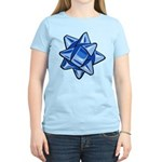 Dark Blue Bow Women's Light T-Shirt