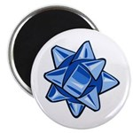Dark Blue Bow Magnet