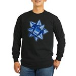 Dark Blue Bow Long Sleeve Dark T-Shirt