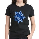 Dark Blue Bow Women's Dark T-Shirt