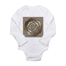 Thunder Long Sleeve Infant Bodysuit