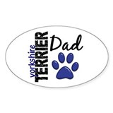 Yorkshire Terrier Dad 2 Decal
