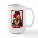 Airedale Terrier Christmas Large Mug