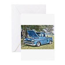 Blue Truck Greeting Cards (Pk of 10)