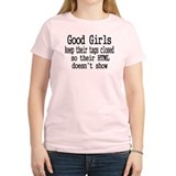 HTML Good Girls Close Tags T-Shirt