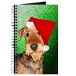 Airedale Terrier Christmas Journal