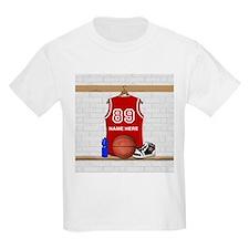 Personalized Basketball Jerse T-Shirt