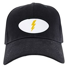 Yellow Thunderbolt Baseball Hat
