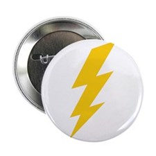 "Yellow Thunderbolt 2.25"" Button (10 pack)"