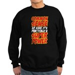 common sense Sweatshirt (dark)