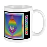 Rainbow Love Jeweltone Mug