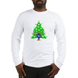 Hanukkah and Christmas Families Long Sleeve T-Shir