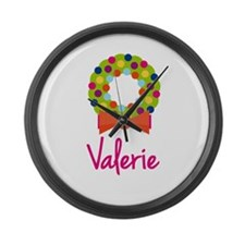 Christmas Wreath Valerie Large Wall Clock