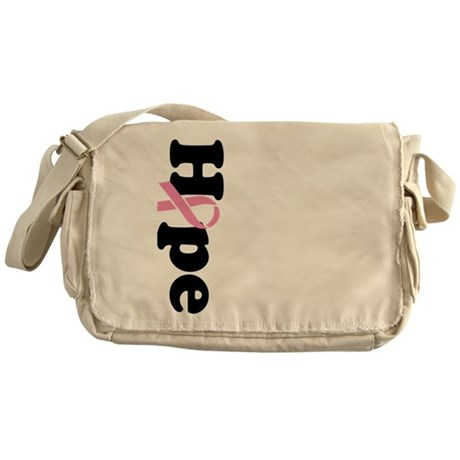 Hope Breast Cancer Messenger Bag