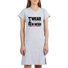 Lung Cancer Mother Women's Nightshirt