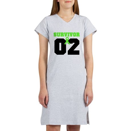 Lymphoma Survivor 2 Years Women's Nightshirt