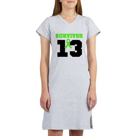 Lymphoma Survivor 20 Year Women's Nightshirt