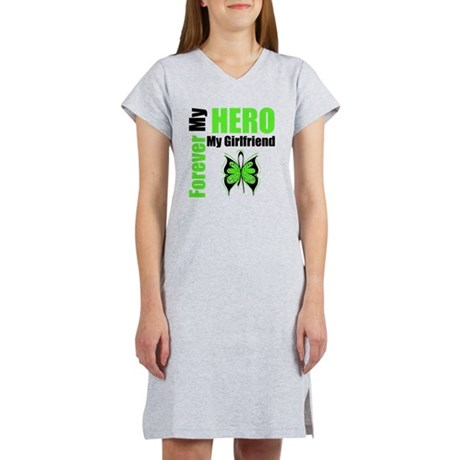 Lymphoma Hero Girlfriend Women's Nightshirt