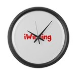 iWinning Large Wall Clock