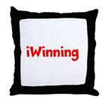 iWinning Throw Pillow