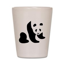 Panda Bear Shot Glass
