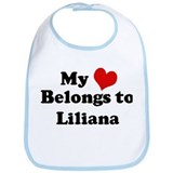 My Heart: Liliana Bib