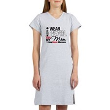 Lung Cancer (Mom) Women's Nightshirt