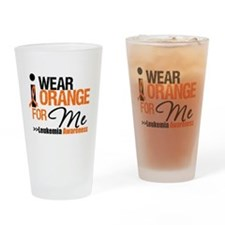 Leukemia (For Me) Drinking Glass