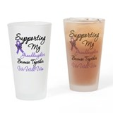 Support Granddaughter HL Drinking Glass