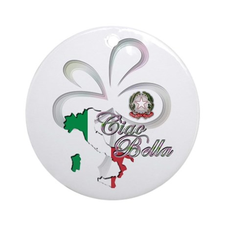 Ciao Bella Ornament (Round)