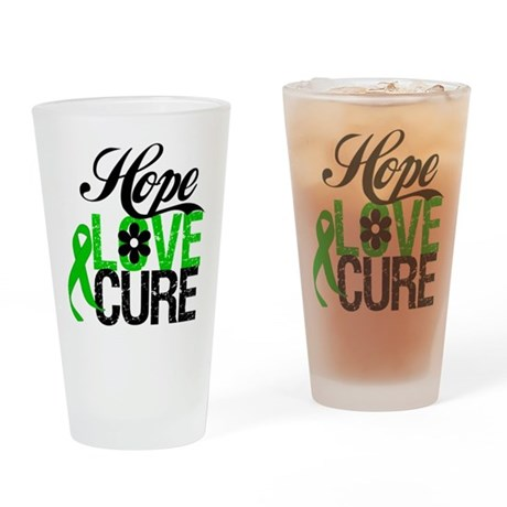 SCT Hope Love Cure Drinking Glass