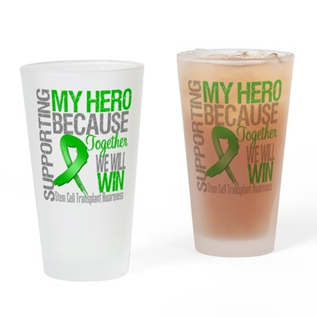 Supporting SCT Hero Drinking Glass