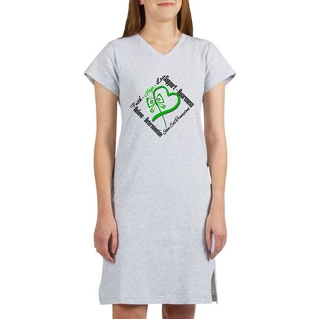 StemCellTransplant Heart Women's Nightshirt