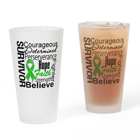 Survivor StemCellTransplant Drinking Glass