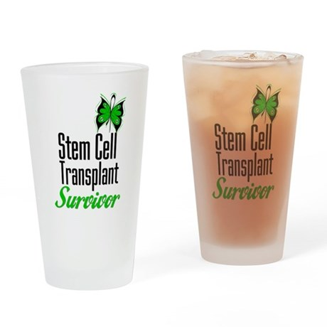 StemCellTransplantSurvivor Drinking Glass