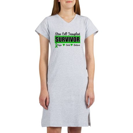 Stem Cell Transplant Survivor Women's Nightshirt