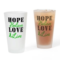 SCT BMT Hope Motto Drinking Glass