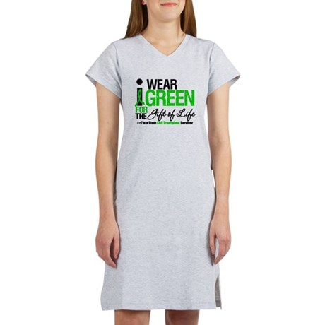 I Wear Green SCT Survivor Women's Nightshirt