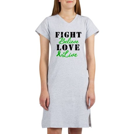 SCT Warrior Fight Women's Nightshirt