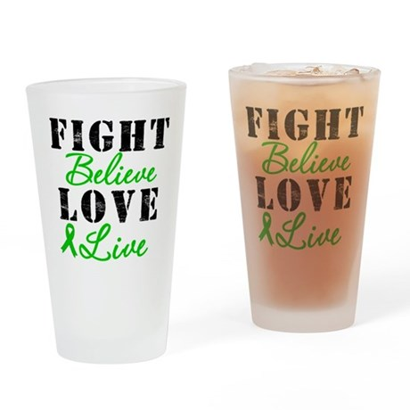 SCT Warrior Fight Drinking Glass