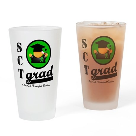 Stem Cell Transplant Grad Drinking Glass