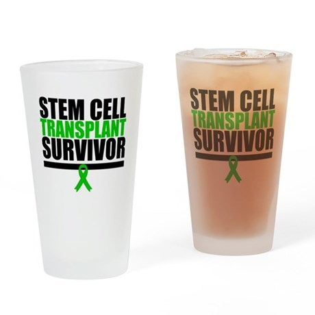Stem Cell Transplant Drinking Glass