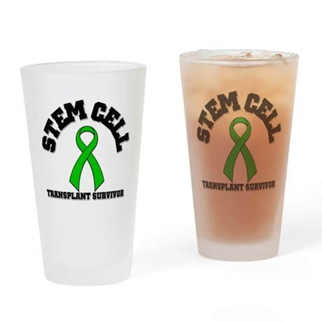 SCT Transplant Survivor Drinking Glass