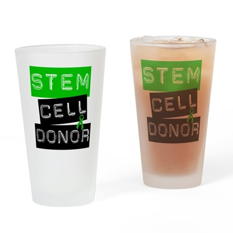 Stem Cell Donor (Label-G) Drinking Glass