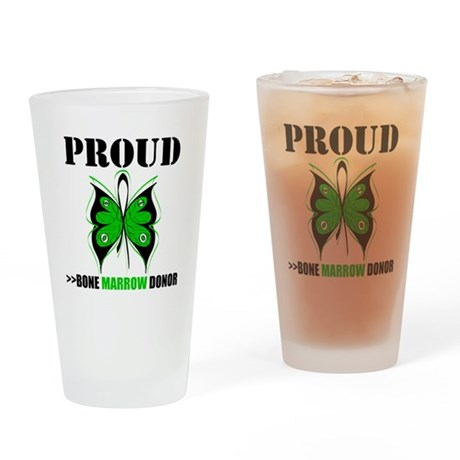 ProudBoneMarrowDonor Drinking Glass
