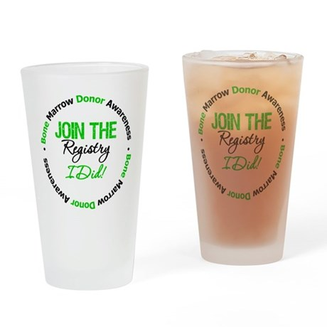 BMT Survivor Drinking Glass